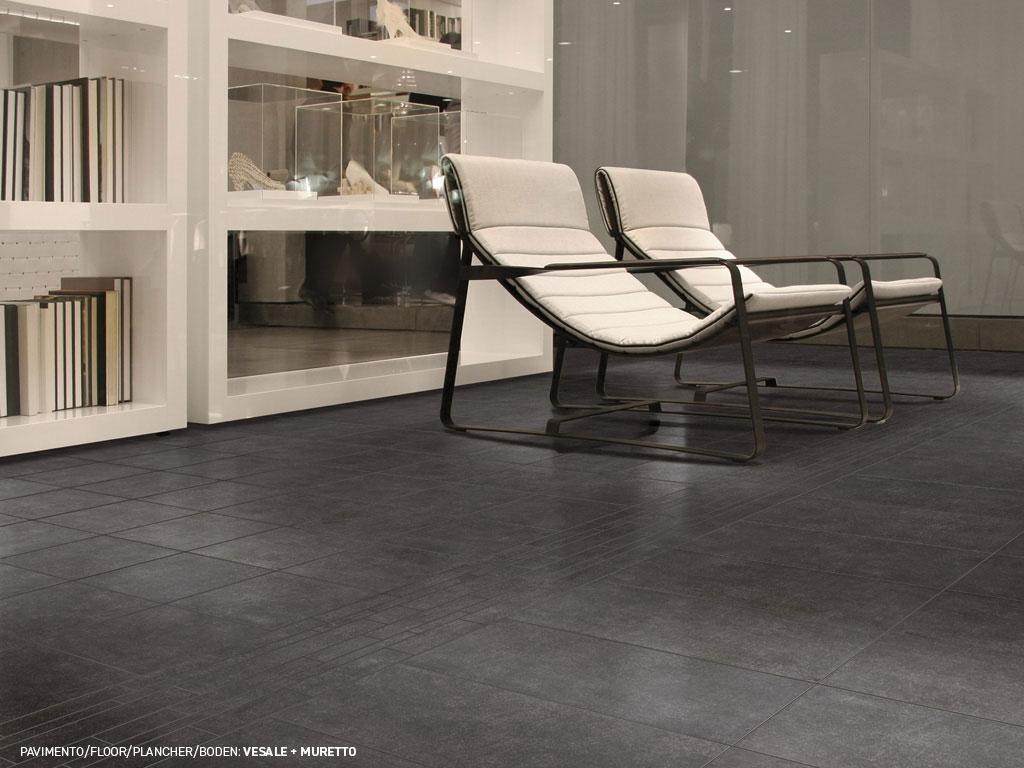 Vesale dark grey porcelain floor tiles ceramica rondine vesale dailygadgetfo Choice Image