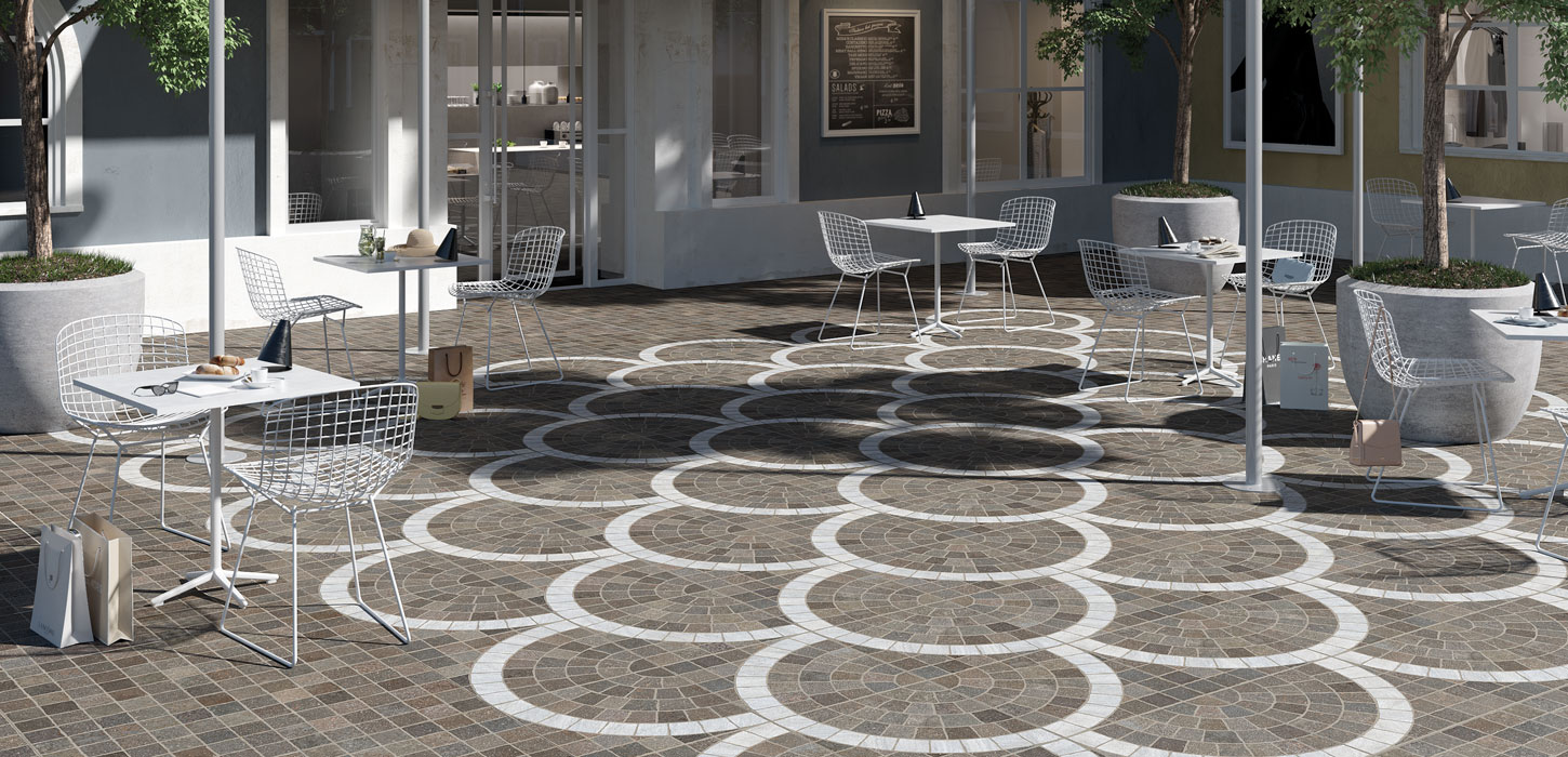 Outdoor floorings Aurelia by Ceramica Rondine
