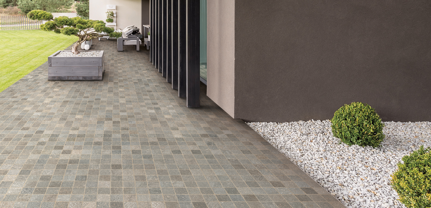 Stone effect floor and walls tiles Aurelia by Ceramica Rondine