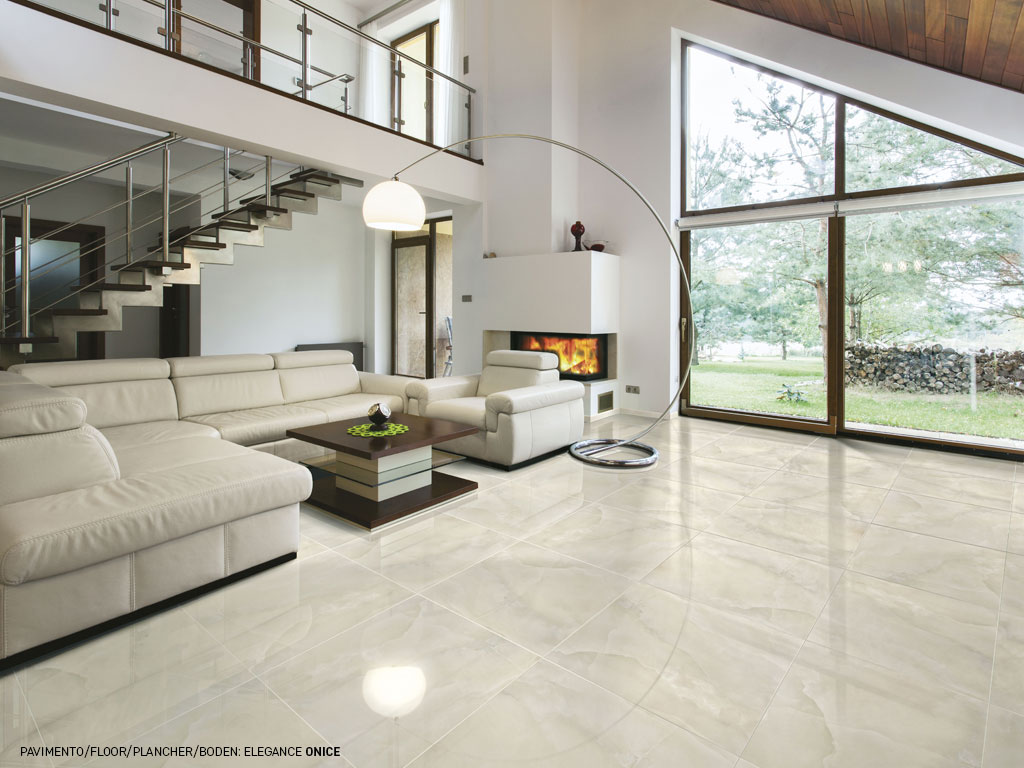 Pavimento bianco gres porcellanato: sintesi ceramica italiana ...