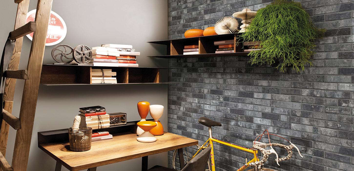 Brick Style The wall by Ceramica Rondine