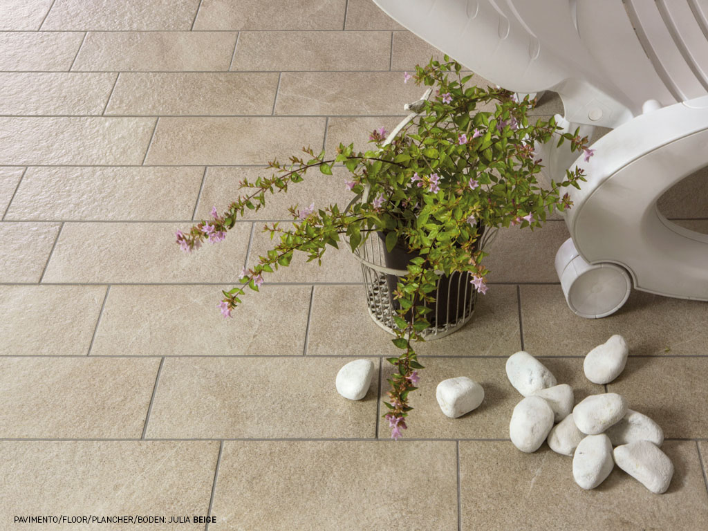Stone effect floor and walls tiles Julia by Ceramica Rondine