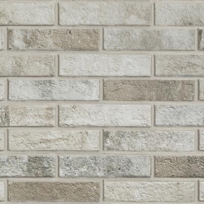 Multicolour brick effect porcelain stoneware London | Ceramica Rondine