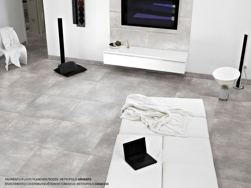Gres porcellanato effetto cemento vissuto ceramica rondine