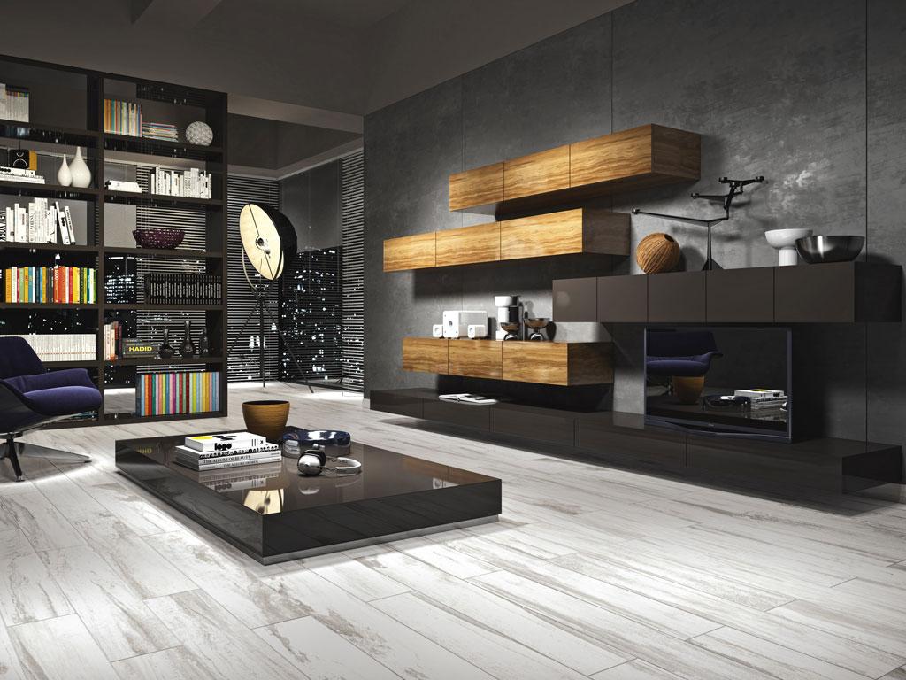 Pavimenti effetto legno bianco: bagno con pavimento effetto legno ...