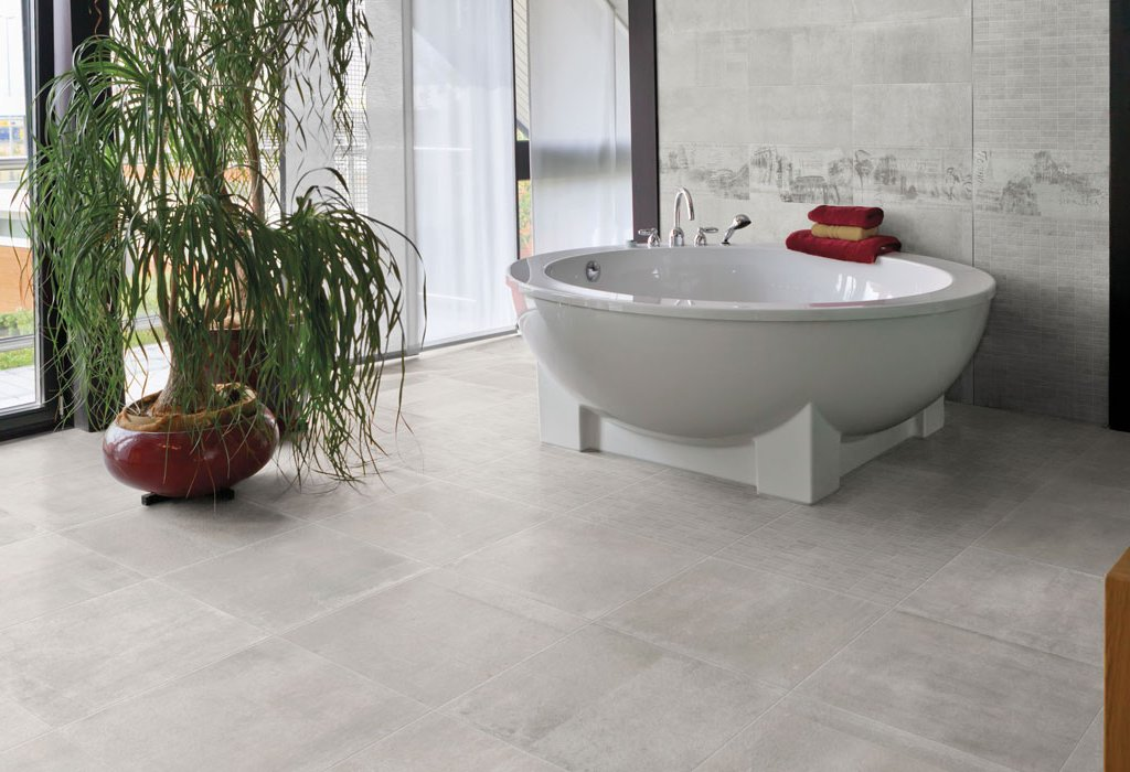 Concrete and resin floor effect Icon by Ceramica Rondine