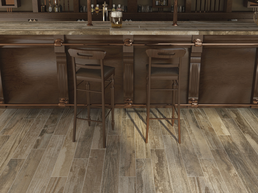 Wood effect porcelain stoneware tiles salvage ceramica for Carrelage marazzi