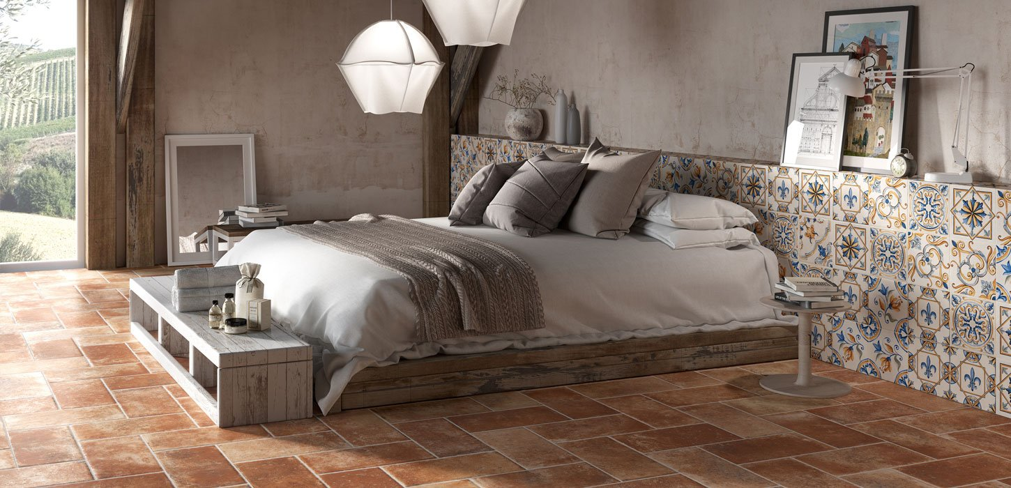 tuscany terracotta effect floors