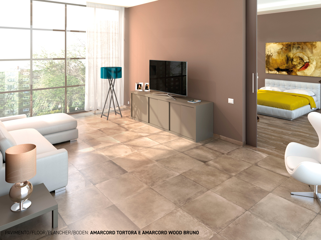 Outdoor and indoor porcelain tiles ceramica rondine for Carrelage urban piombo