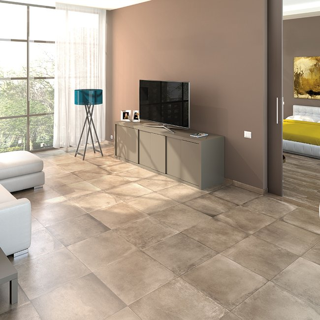 Grey tiles Amarcord by Ceramica Rondine