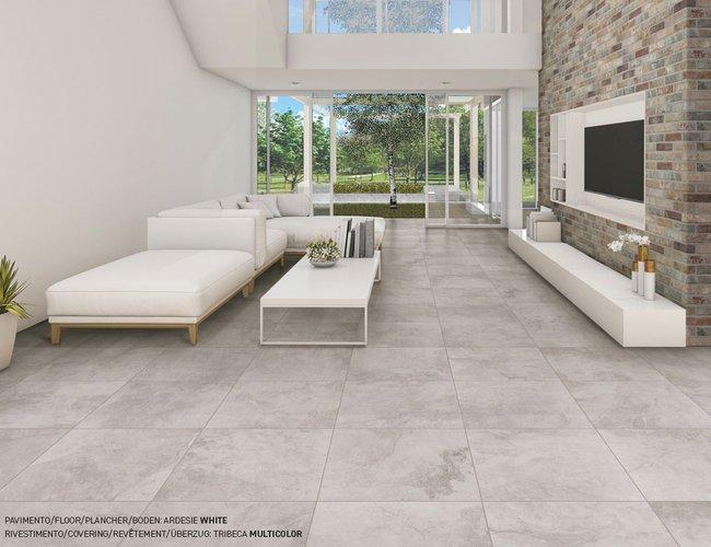 Bricola wood effect porcelain stoneware tiles foresta di for Piastrelle per soggiorno