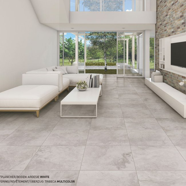 Grey tiles Ardesie by Ceramica Rondine