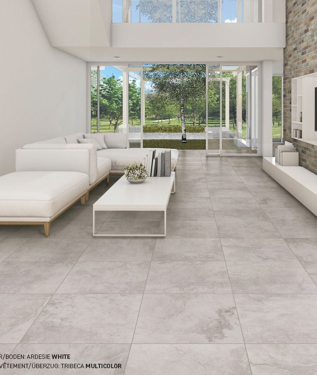 Multicolor tiles Ardesie by Ceramica Rondine