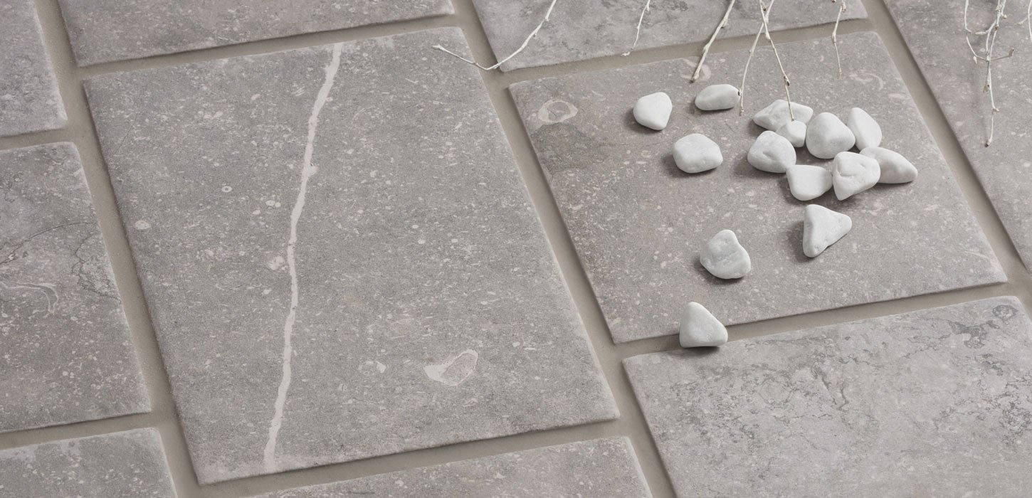 blue stone outdoor stone effect tiles