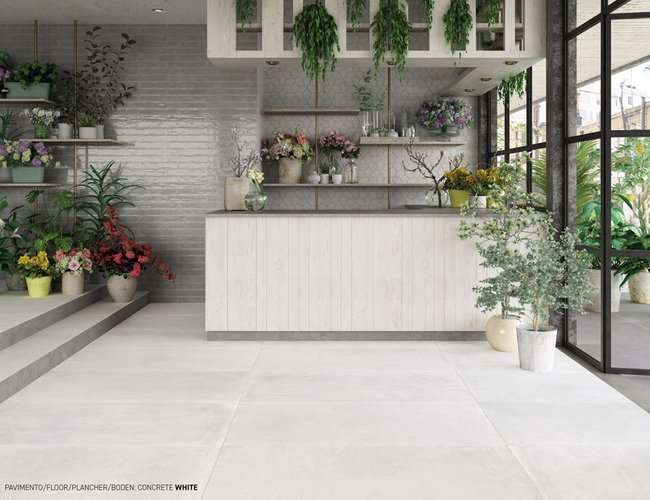 Brown tiles Concrete by Ceramica Rondine