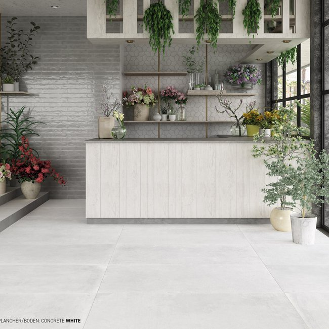 Piastrelle color marrone Concrete by Ceramica Rondine
