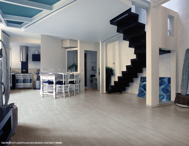 Carrelage blanc Contract by Ceramica Rondine