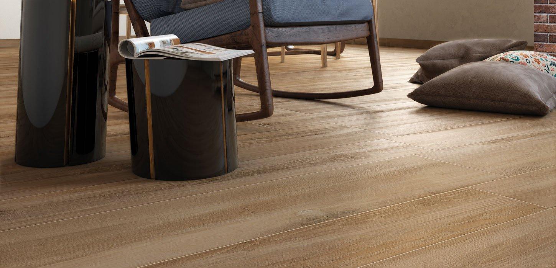 Pavimento Gres Rovere Sbiancato piastrelle effetto legno vintage rovere in gres | ceramica