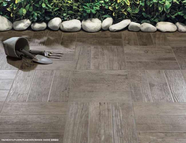 Carrelage marron Doghe by Ceramica Rondine