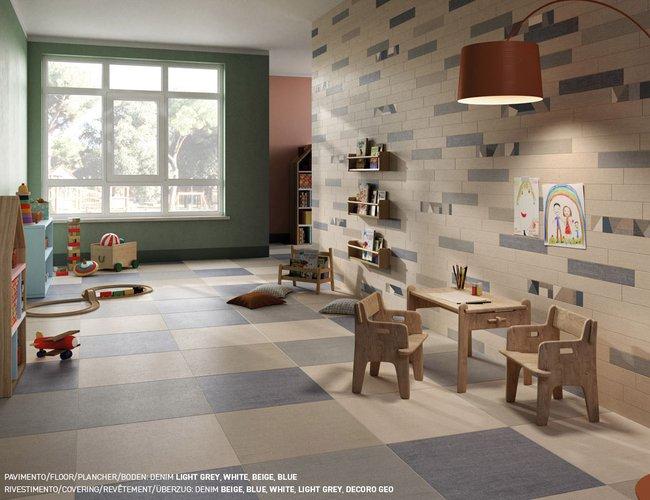 Piastrelle blu per pavimenti e rivestimenti ceramica rondine