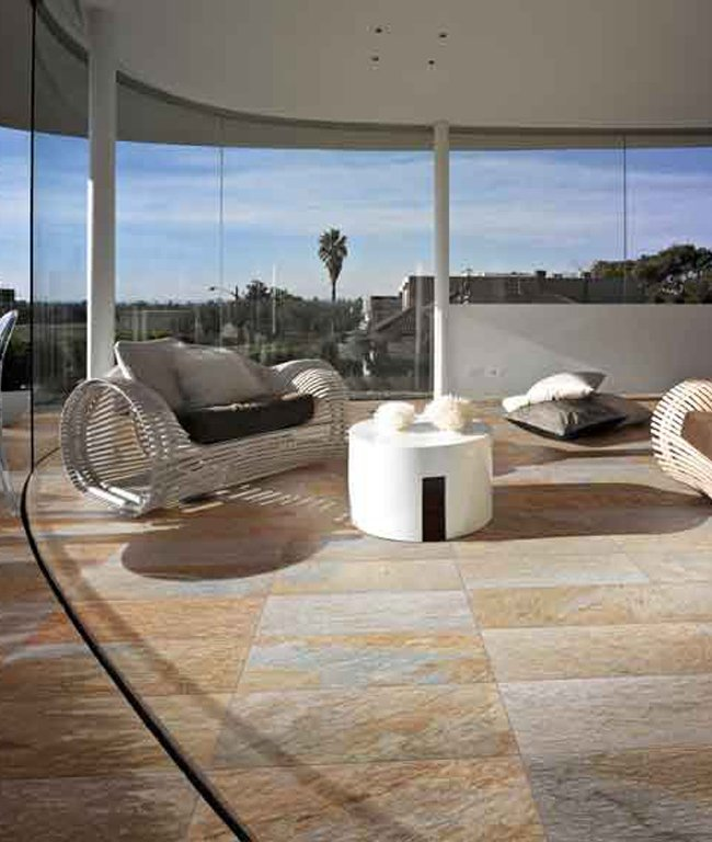 Piastrelle multicolor Golden light by Ceramica Rondine