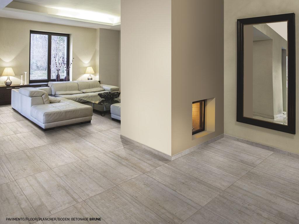 Gres effetto cemento betonage di ceramica rondine for Gres effetto cemento