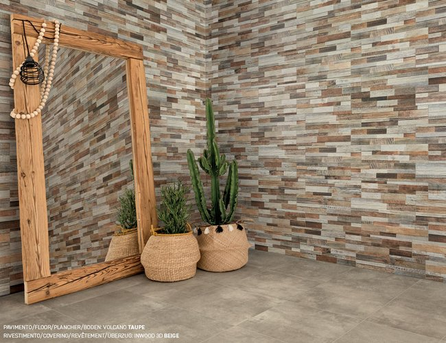 Multicolor tiles Inwood 3d by Ceramica Rondine