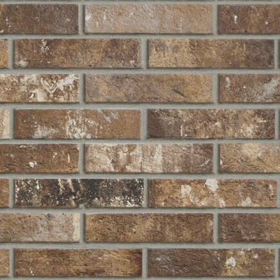 Multicolour Brick Effect Porcelain Stoneware London