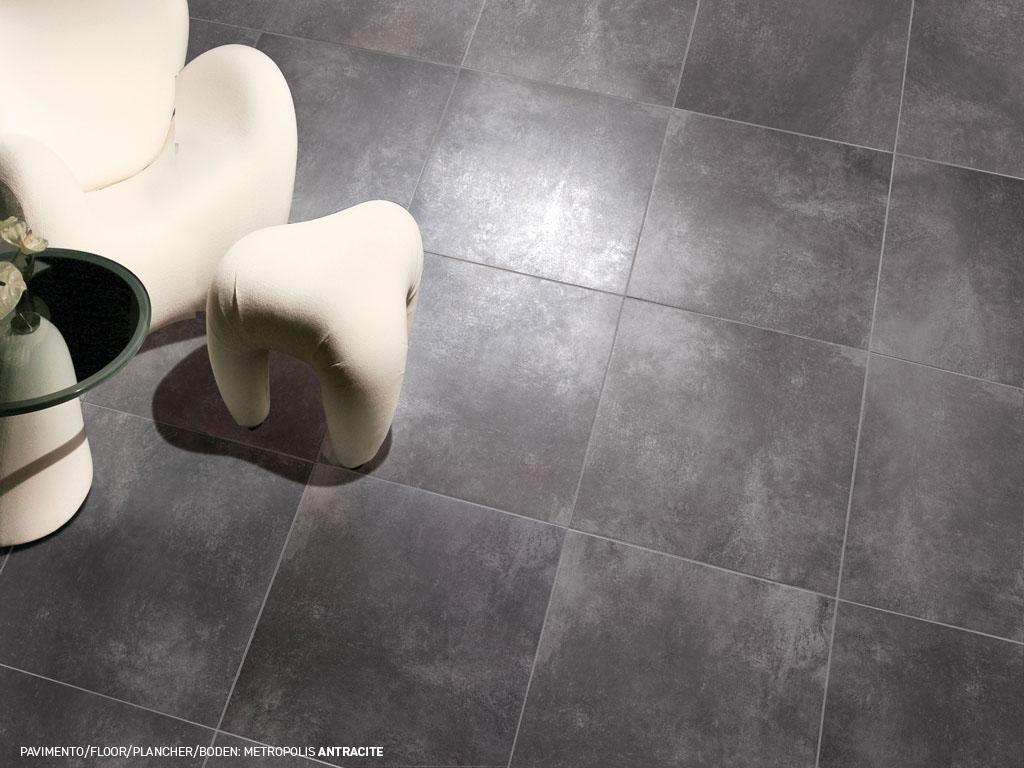 Sols en gr 232 s c 233 rame imitation ciment ancien metropolis ceramica