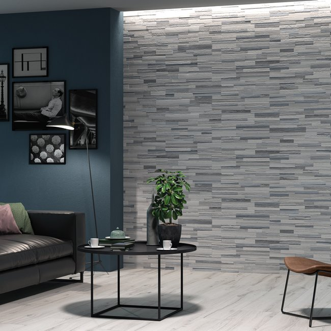 Multicolor tiles Palissandro 3d by Ceramica Rondine
