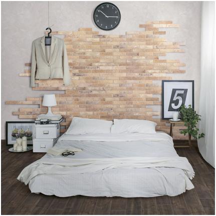 Quattro idee per decorare la parete dietro il letto ...