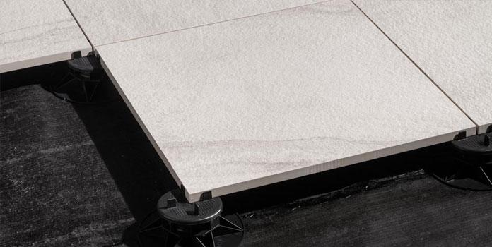 Pavimentazione esterna autoportante h20 ceramica rondine