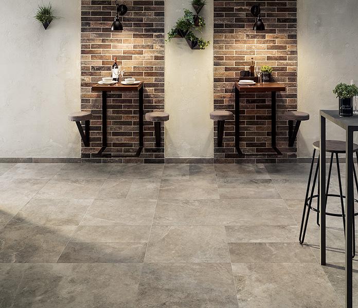 Piastrelle 60x60 cm e 60x120 cm sixzerosolution ceramica rondine - Prezzo posa piastrelle 60x60 ...