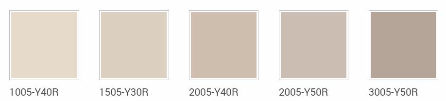 Tortora colore ral for Tavole colori per pareti
