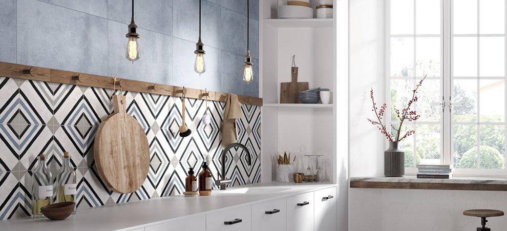La cucina in stile industriale | Ceramica Rondine