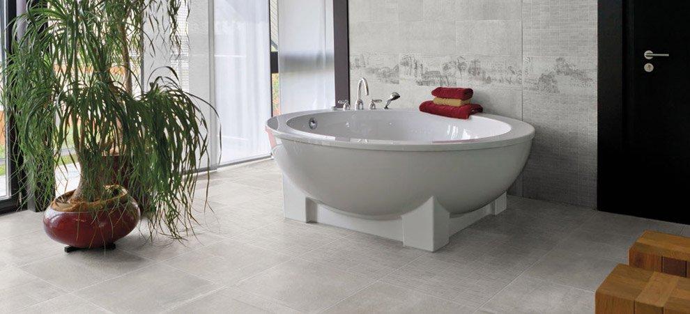 Un bagno di stile ceramica rondine - Cementina bagno ...