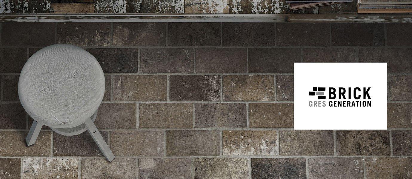 Brick Generation Piastrelle Effetto Mattone Ceramica Rondine