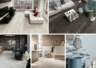 The 5 most stylish colours for ceramic tiles