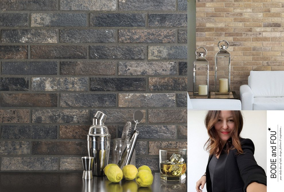 Exposed Brick Wall Design Ideas For Your Home By Bodie And Fou Ceramica Rondine